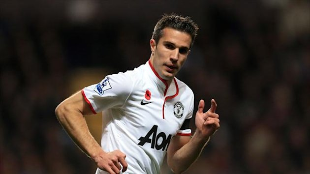 Robin Van Persie relishes playing the big games with Manchester United