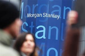 The headquarters of Morgan Stanley is seen in New York