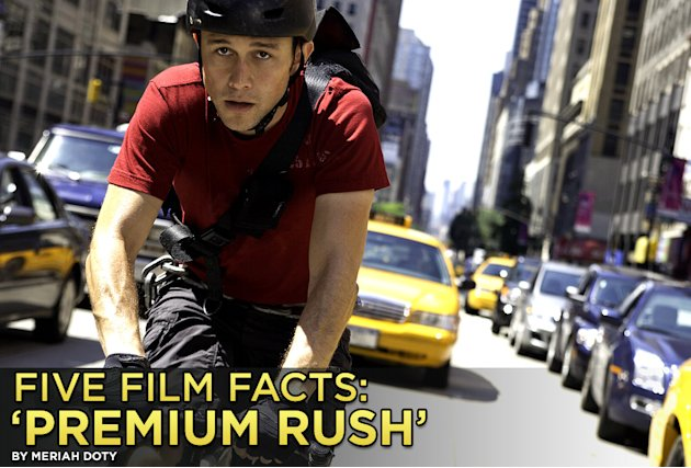 Five Film Facts Premium Rush