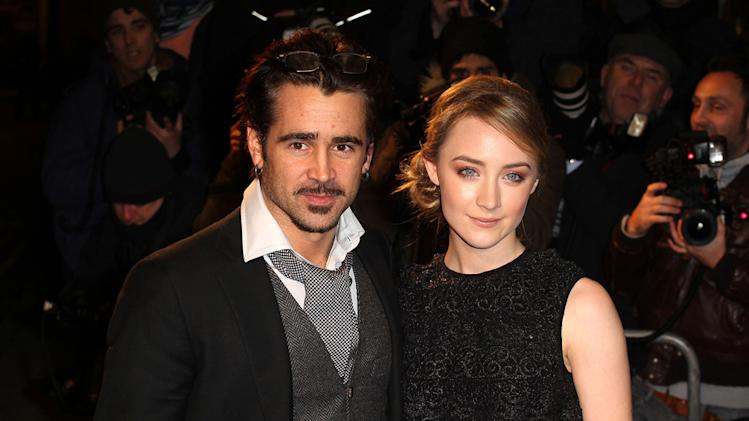 The Way Back UK Premiere 2010 Colin Farrell Saoirse Ronan