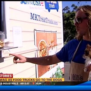 Tails wag as food trucks go to the dogs