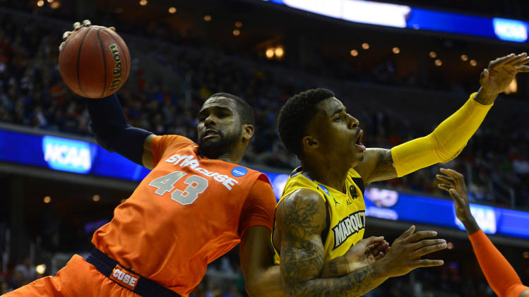 NCAA Basketball: NCAA Tournament-Marquette vs Syracuse