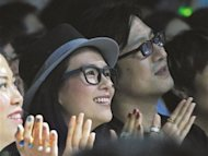 Zhang Ziyi and Wang Feng spotted in Las Vegas