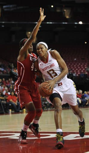 No. 10 Maryland women beat NC State 82-62