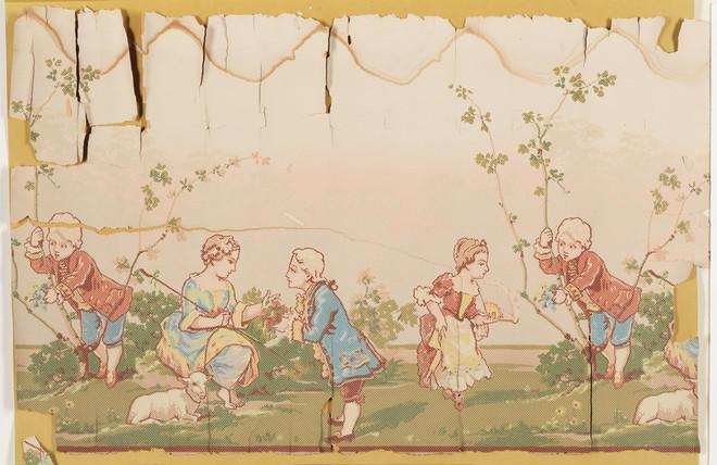 Curbed I Spy: I Spy: Awkward Historic Nursery-Rhyme Wallpaper Edition