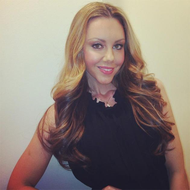 Celebrity Twitpics: Michelle Heaton is back to her former self after her double mastectomy before Christmas. This week she's had a hair overhaul, and tweeted this photo of her shiny new locks. Copyrig