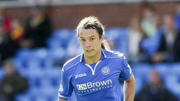 Stevie May struck a brace for St Johnstone