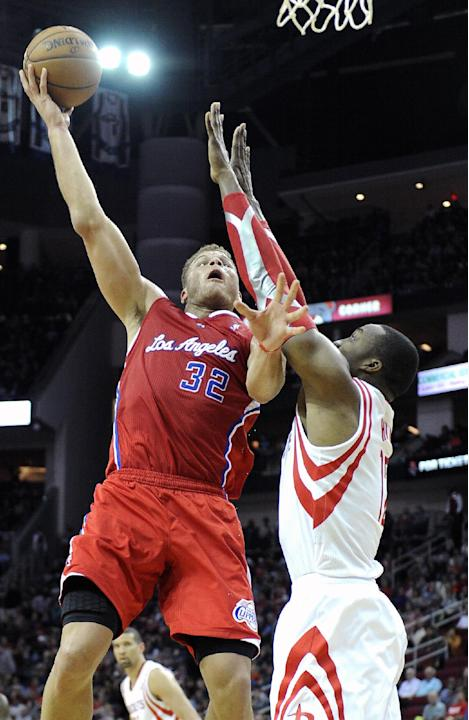 Griffin, Redick lead Clippers past Rockets, 107-94