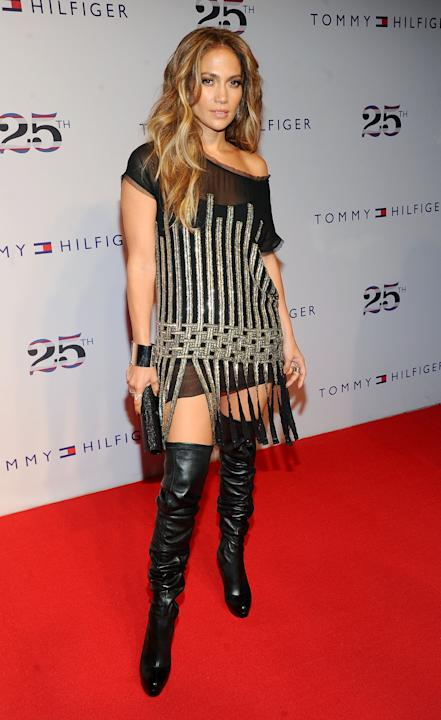 Jennifer Lopez at Tommy Hilfiger