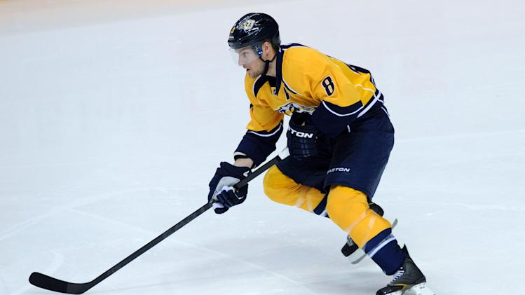 NHL: Detroit Red Wings at Nashville Predators