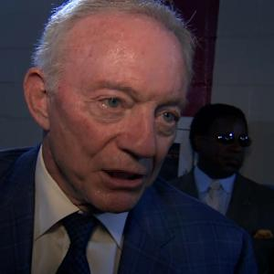 Dallas Cowboys owner Jerry Jones on Roger Goodell: '100 percent support'