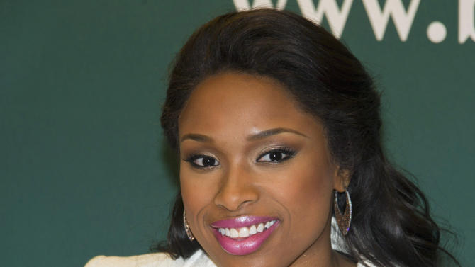 FILE - In this Jan. 10, 2012 file photo, singer and actress Jennifer Hudson attends a book signing in New York. On Wednesday, May 9, 2012, closing arguments are taking place at the Chicago murder trial for William Balfour, Hudson's ex-brother-in-law who is accused of killing her mother, brother and nephew in October 2008. (AP Photo/Charles Sykes, File)