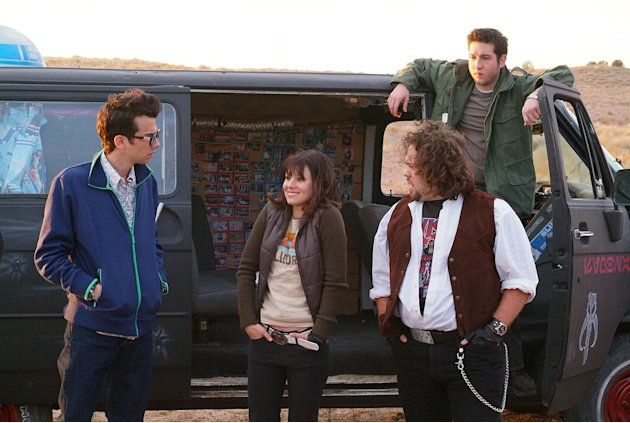 Fanboys Production Stills Weinstein Company 2008 Jay Baruchel Kristen Bell Dan Fogler Sam Huntington