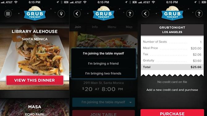 GrubTonight Launches in Los Angeles