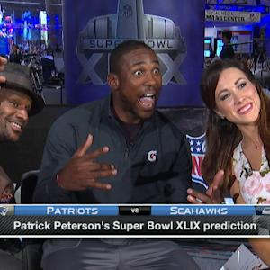 Arizona Cardinals cornerback Patrick Peterson takes a selfie on 'NFL AM'