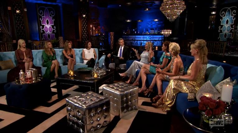 'Real Housewives' Bethenny Frankel Says 'Luann Learned the Pirate Lesson' After Raunchy Hook Up (Video)