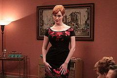 I love that Joan painted her walls a salmon pink hue; it's so fitting for the vivacious redhead.…