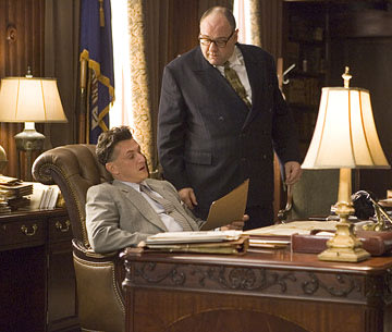Sean Penn and James Gandolfini in Columbia Pictures' All the King's Men