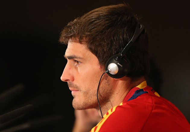 Spain Training and Press Conference - UEFA EURO Final 2012