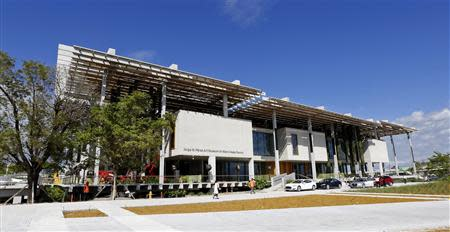 The Perez Art Museum Miami (PAMM) is pictured in Miami
