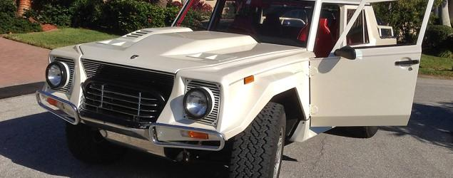 Lamborghini LM002: The SUV that started it all