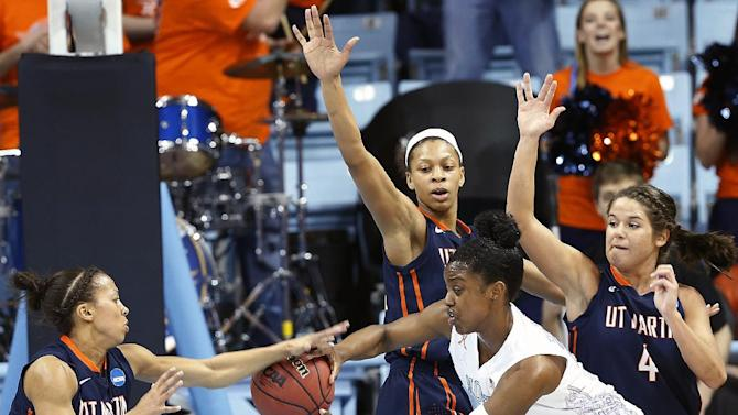 UNC comes back from 18 down to top UT Martin 60-58