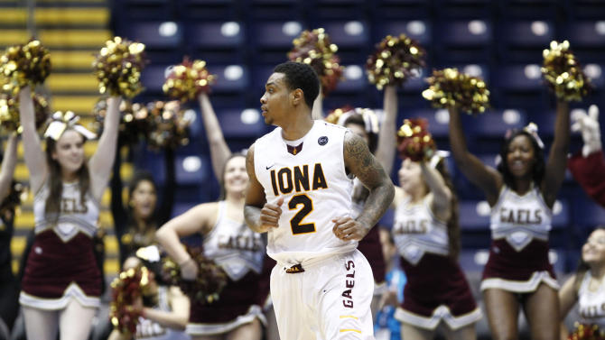 NCAA Basketball: Metro Atlantic Conference Tournament-Iona vs Manhattan