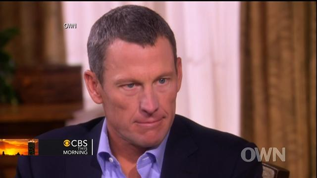 Armstrong on doping: I didn't think it was cheating