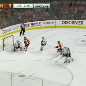 Corey Crawford Save on Michael Raffl (12:22/3rd)