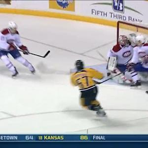 Bourque buries one past Price