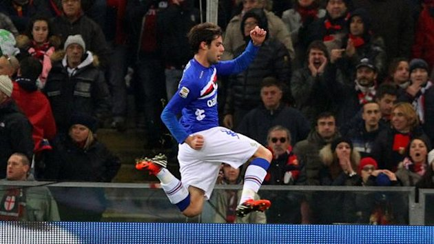 Andrea Poli of Sampdoria