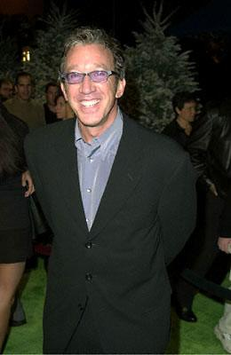 Premiere: Tim Allen at the Universal Amphitheatre premiere of Universal's Dr. Seuss' How The Grinch Stole Christmas - 11/8/2000