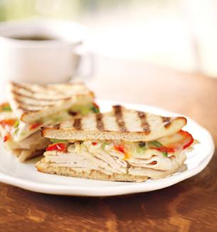 Starbucks Santa Fe Chicken Panini