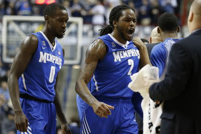 Memphis' game-winner vs. UConn bounces off the rim not once, not twice, not 3times ...