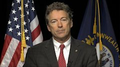 ABC rand paul this week jt 131103 16x9 608 Sen. Rand Paul Wishes He Could Challenge Plagiarism Critics to a Duel; Calls Them Hacks and Haters