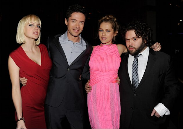Take Me Home Tonight 2011 LA Premiere Anna Faris Topher Grace Teresa Palmer Dan Fogler