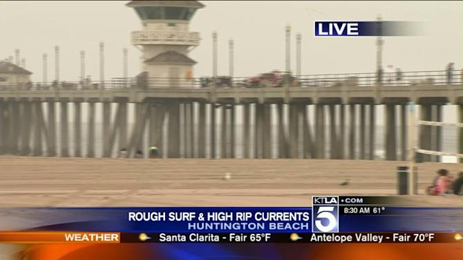 Lifeguards Warn Against Dangerous Rip Currents at L.A. County Beaches