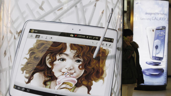 Smartphone 4Q sales rise 36 pct led by Samsung