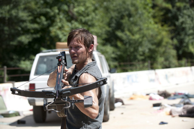 "Daryl Dixon (Norman Reedus) in ""The Walking Dead"" episode, ""Home."""