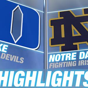 Duke vs Notre Dame | 2015 ACC Men's Lacrosse Championship Highlights