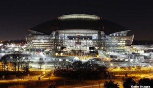 Cowboys Stadium in Arlington