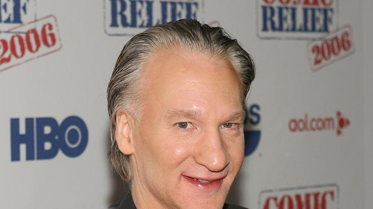 "Bill Maher at ""Comic Relief 2006""."