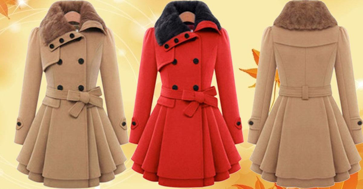 Hot Selling Women's Overcoat 75% Off Or More