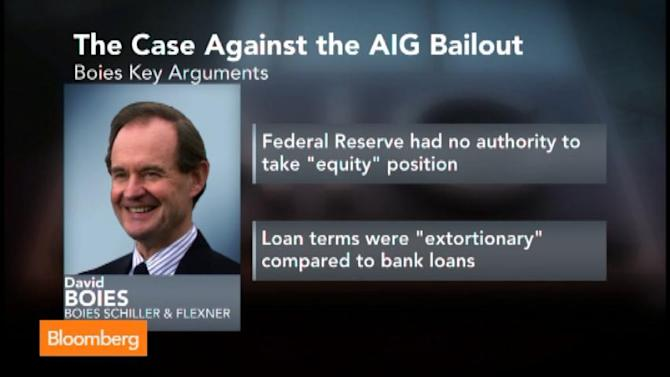 AIG Bailout Lawsuit Shifts to Government's Defense