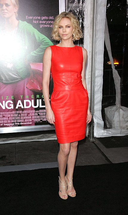 Young Adult NY Premiere 2011 Charlize Theron