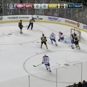 Carey Price Save on Torey Krug (05:13/1st)