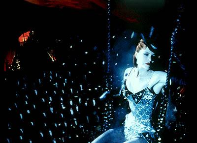 Nicole Kidman as Satine, 1900 Paris's most famous star and highest-paid courtesan in 20th Century Fox's Moulin Rouge