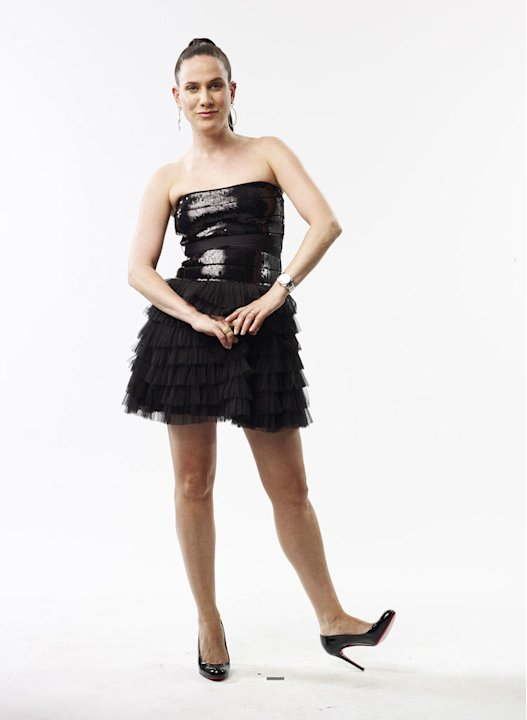"Kara Janx from Project Runway, Season 2 returns to the catwalk to compete in ""Project Runway All Stars."""