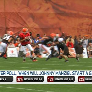 NFL Media's Brian Baldinger's first impressions of Cleveland Browns quarterback Johnny Manziel