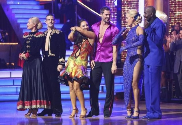 The final 3 on 'Dancing with …